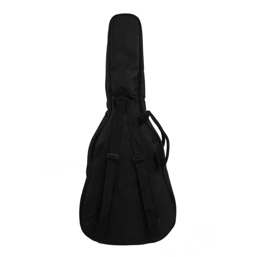 gig bag para guitarra djr atrás
