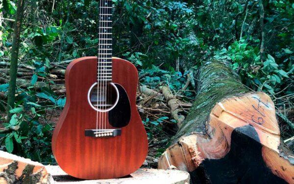Martin Guitar y su ayuda al planeta